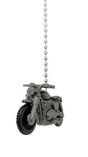 Diecast Custom Car Truck Ceiling Fan Light Pull Chain Christmas Ornaments (Triumph Scrambler Motorcycle)