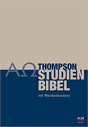 Thompson Studienbibel mit Wortkonkordanz