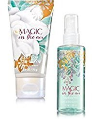 Bath and Body Works Magic in the air Travel Size Set Body Cream 2.5 Oz. And Magic in the air Fine Fragrance Mist 3 Oz.