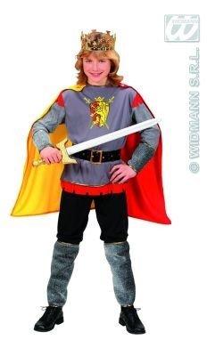 Children's Sir Lancelot Costume Medium 8-10 Yrs (140cm) For Medieval (Sir Lancelot Costumes)