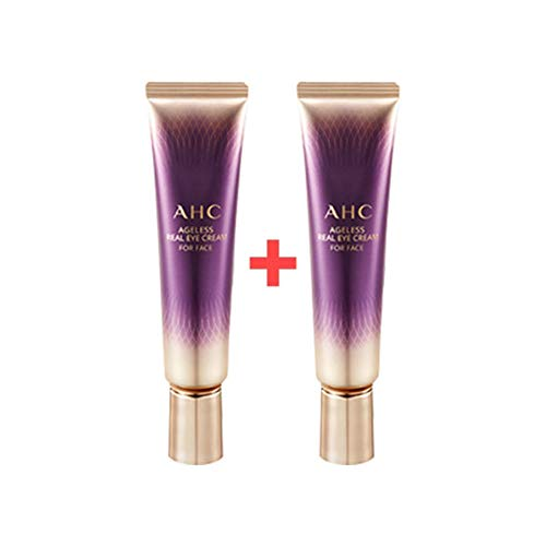New in 2019 Season 7 - AHC Ageless Real Eye Cream for Face 30ml (1oz) x 2 Pack - Brightening & Wrinkle care Dual Functional