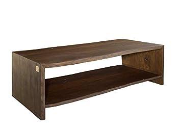 vente chaude en ligne 3a45d 6c7e2 MASSIVMOEBEL24.DE Table Basse Acacia 150x70x45 Marron Vernis ...