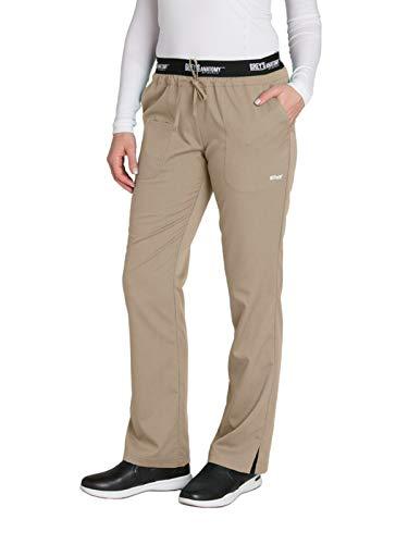 Grey's Anatomy Active 4275 Drawstring Scrub Pant New Khaki M