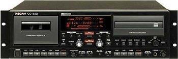 Tascam CC-222 CDRW/Cassette Combo Deck