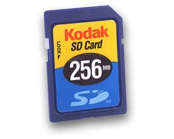 Easyshare Memory Card (Kodak 256mb Premium Secure Digital SD Memord Card)