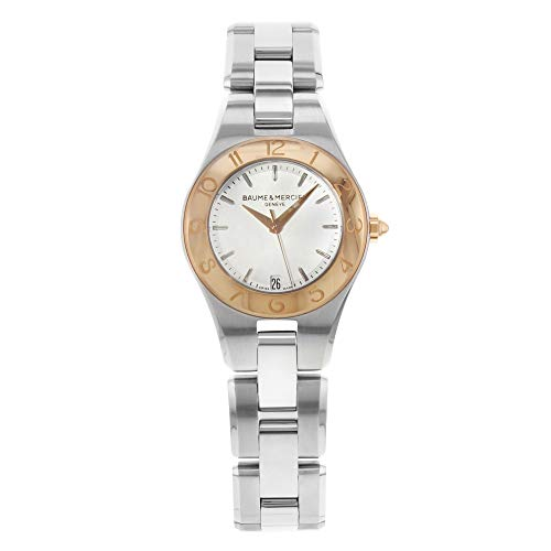Baume & Mercier Linea Quartz Female Watch MOA10079 (Certified Pre-Owned) (Linea Womens Watch)