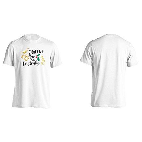 Nusser Als Ein Obstkuchen Herren T-Shirt n581m