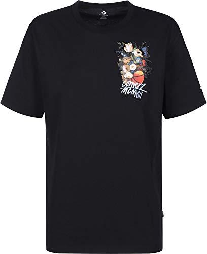 T Basketball Converse Flower Nero shirt O7E0xpAqw