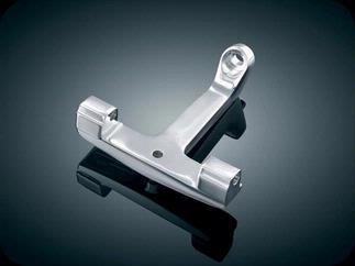 Kuryakyn 7926 Adjustable Passenger Footrests For Harley-Davidson (Pegs Adjustable Kuryakyn Passenger)