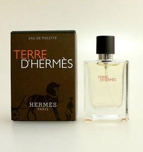 Hermes Box - Terre D'hermes Pure Parfum By Hermes Mini 0.42 oz / 12.5 ML ~ New In Box