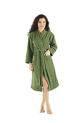 Bagno Milano Women's Robe,Kimono Soft Terry Bathrobe,Made in Turkey