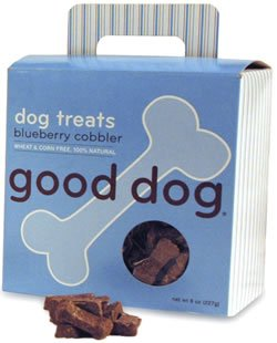 Sojo's Good Dog Treats – Blueberry Cobbler 8 Oz. (Pack of 6 Boxes), My Pet Supplies