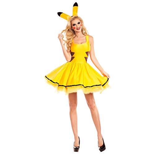 Floppyeva Women's Costume Dress Halloween Cosplay Outfit