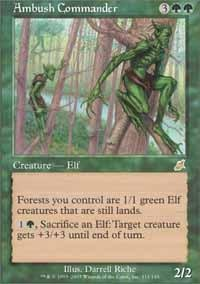 Magic: the Gathering - Ambush Commander - Scourge - Foil