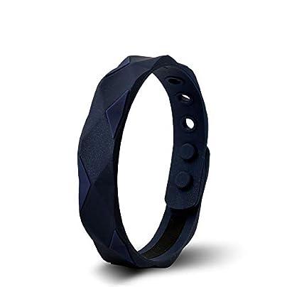 ZUOZUO Leather Wristband Titanium Wristband Bracelet Balance Energy Balance Body Estimated Price £34.99 -