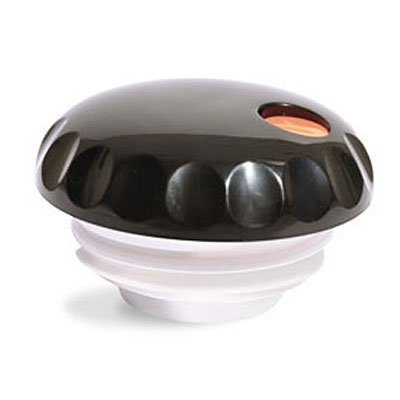 Vollrath 52171 SwirlServe Black Push Button Lid For 42 Oz Server by Vollrath (Button Server Push Black)
