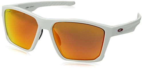 - Oakley Men's Targetline Non-Polarized Iridium Square Sunglasses, MATTE WHITE, 58.0 mm