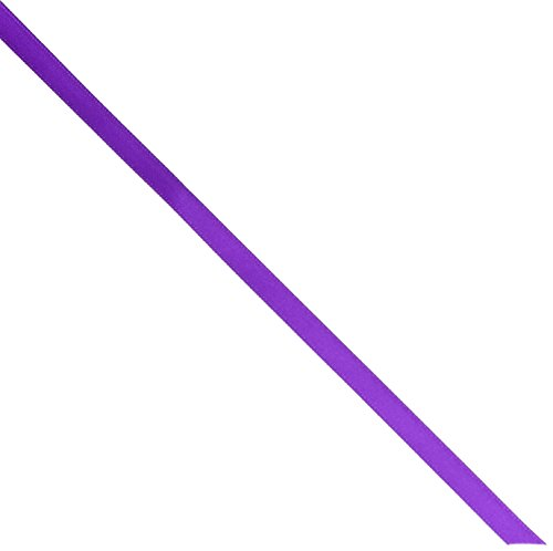Kel-Toy Double Face Satin Ribbon, 1.5-Inch by 25-Yard, (Purple Bow Meaning)
