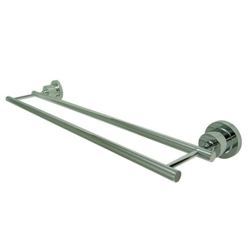 Kingston Brass BA8213C Concord 24-Inch Dual Towel Bar, Polis