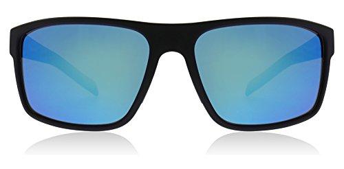 adidas Mens Whipstart a423 6055 Rectangular Sunglasses, Black Matte, 61 ()