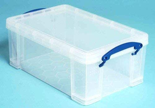 9 l Blau Really Useful Aufbewahrungsbox Kunststoff