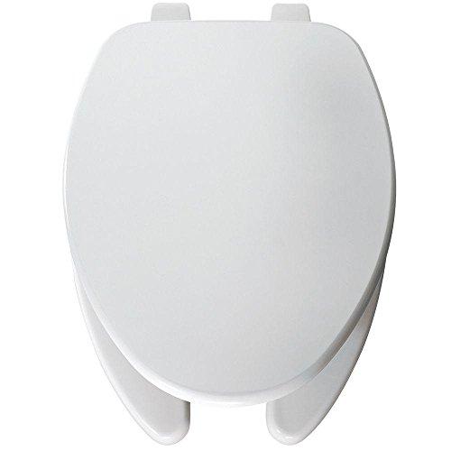 Bemis 560 000 Round Open Front Toilet Seat, White - Round Front Bowl Seat