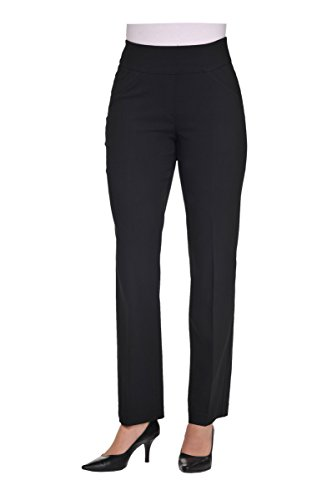Pull-On Boot Cut Pant Black 12 by Alia (Image #4)