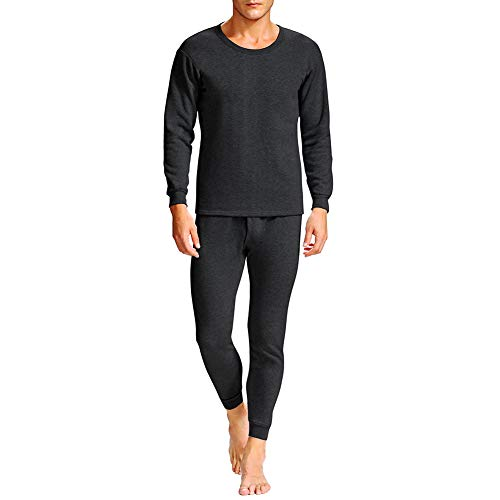 Men's Ultra Soft Thermal Underwear Long Johns Set with Fleece Lined -