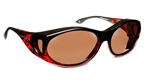 64a740f7 Polar Optics Fits Over Orion Medium Copper/Tor Sunglasses