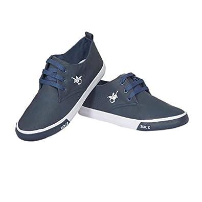 Rock Canvas Shoe (9 M US, Navy Blue