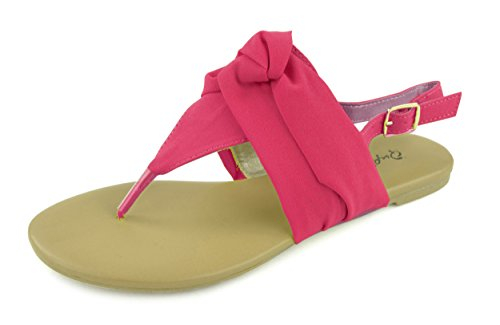 On Fuschia Womens Detailed Slip Ballerina Flat Giovani Shoe Donne Comfortable Shoes qZwvHFp8