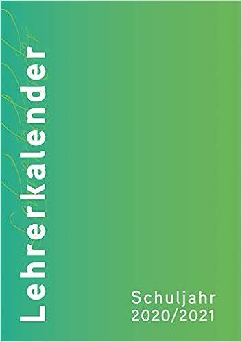 Umschlag rot DIN A4 Lehrerkalender 2020//2021