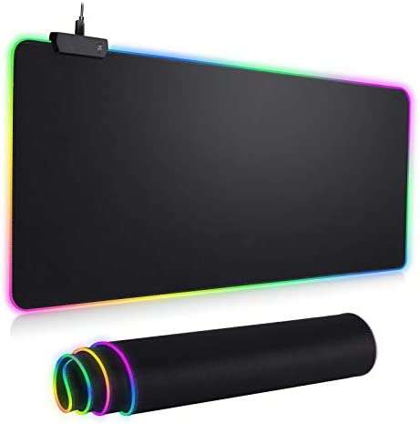 RGB Mousepad Led Mouse Pad, Large Mouse Pad,Led and Big Mouse mat