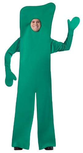 Rasta Imposta Gumby Open Face, Green, One Size (Gumby Costumes)