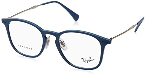 Ray-Ban Unisex 0RX8954 Light Blue Trasparent One ()