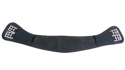 PFIFF Anatomischer PFIFFsoft Sattelgurt, schwarz, 60 cm, 005113-60-60