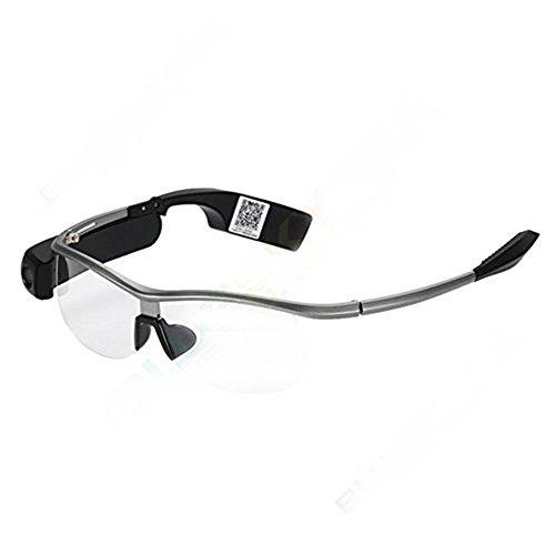 SeeSii Bluetooth Smart Glasses Smart WiFi Video Brille Kamera Kopfhörer Handfree Musik für Android IOS mit einem Geschenk