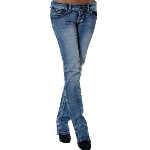 Pantalons Broderie Bleu Pantalon Court Stretch MORCHAN Denim Crayon Leggings Femmes Pantalons Jeans Fitness Knickerbockers Collants Skinny Clair Slim Combinaisons Tw7wqvB5x