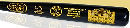 Boston Red Sox Most Wins in Franchise History Roster Bat