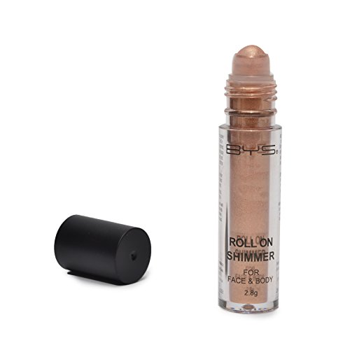 Eye Shadow & Body Shimmer Powder - BYS Face and Body Roll On Glitter Shimmer Bronze