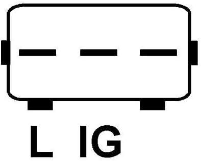 Denso 139268 R/égulateur de tension alternatif 12 V avec cadeau gratuit