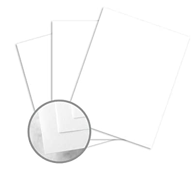CLASSIC CREST Solar White Paper - 18 x 12 in 130 lb Cover DT Smooth 125 per Package