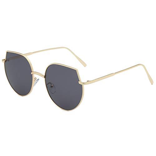 Yucode Unisex Trendy Polarized Flat Lens Sunglasses Square UV Protection Anti Blue Ray Lightweight Frame Eyeglasses