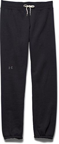 Under Armour COTTON STORM PANT - Pantalones para Mujer, color Negro, talla XS