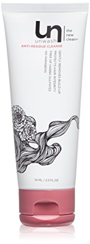 Unwash Anti Residue Hair Cleanse: Gentle pH Balanced Daily Hair Cleansing Conditioning Wash, 2.5 oz