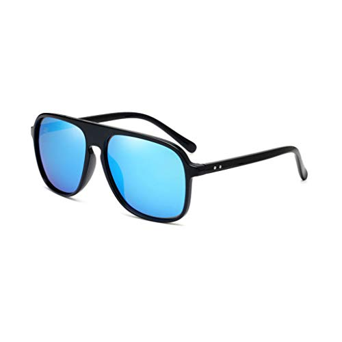 Retro Gafas Aviador New Vogue sol C para Box Running Marea de polarizadas UV Big Hombres CqACxYw