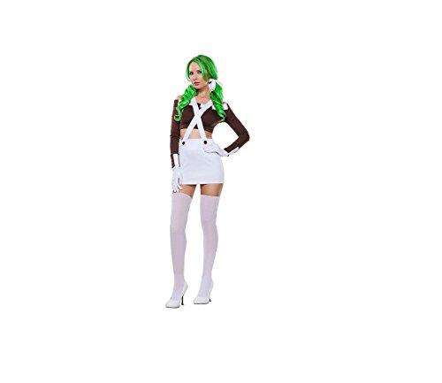 Sexy Schokoladen-Mädchen-Kostüm