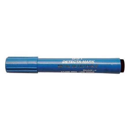 Metal Detectable Dry Erase Marker, Black, PK10