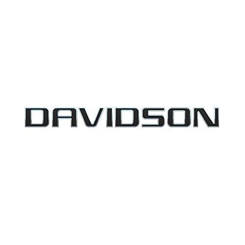 3d Emblem DAVIDSON for FORD F150 F250 F350 Chrome with Black Replacement Harley Davidson 3d Emblem