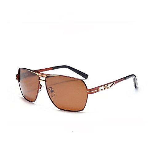 Accessories Sunglasses Eyewear Travel Fauhsto Glasses Lens UV tea Men's Eyeglasses Protection Driving Sunglasses Men Sun For Tea Square Vintage Frame Polarized wnwzvx4Cqt